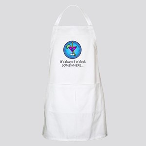 Always 5 O'Clock Somewhere BBQ Apron