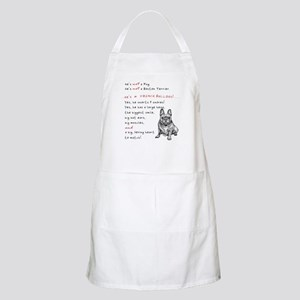 HE'S not a Pug! (Smiling) Apron