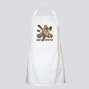 More Mud More Fun on an ATV BBQ Apron