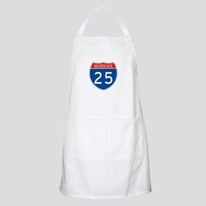 Interstate 25, USA BBQ Apron