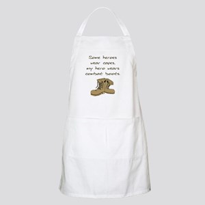 Some Heroes Wear Capes BBQ Apron