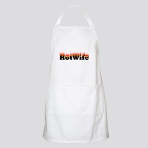 Flaming Hotwife BBQ Apron