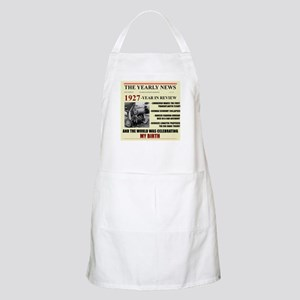 born in 1927 birthday gift BBQ Apron