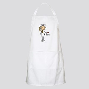 Girl I Love Tennis BBQ Apron