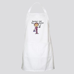 Nurses Call the Shots BBQ Apron