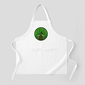 Circle Celtic Tree of Life BBQ Apron