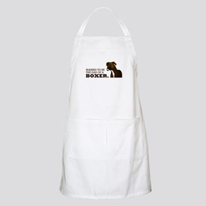 Blessed Boxer Dad Apron
