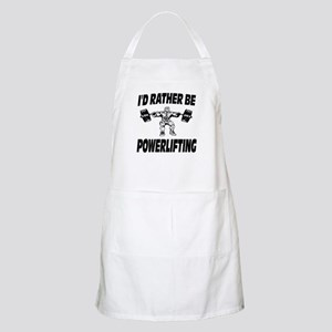 I'd Rather Be Powerlifting Weightlifting Apron