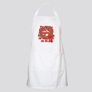 Deck The Harrs - Christmas Story Chinese Apron
