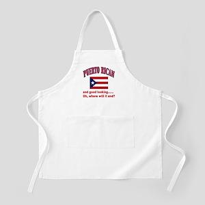 Puerto rican pride BBQ Apron