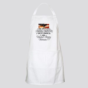 THE VETERAN!!!! Apron