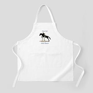 Eyes Up! Heels Down! Horse Apron