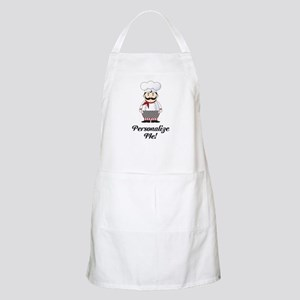 Personalized French Chef Apron