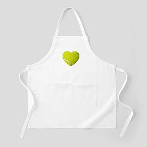 Tennis Heart Apron