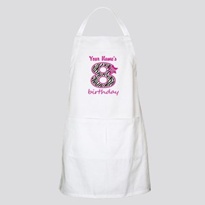 8th Birthday - Personalized Apron