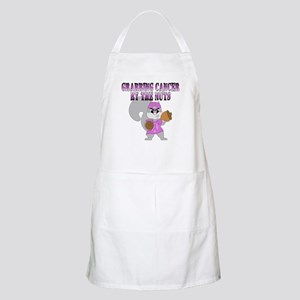 Grabbing cancer by the nuts Apron