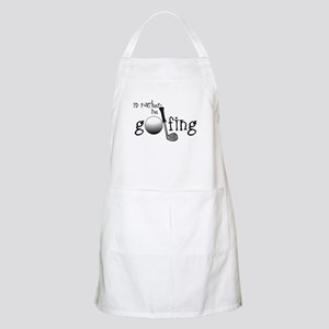 Id Rather Be Golfing Apron