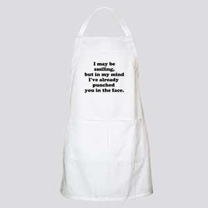 Ive already punched you in the face Apron