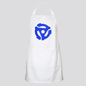 Blue Distressed 45 RPM Adapter Apron