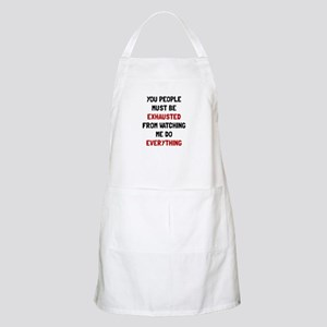 Exhausted Apron