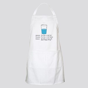 Optimist pessimist engineer Light Apron