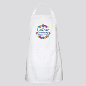 Camping Happy Place Apron
