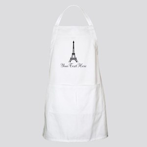 Personalizable Eiffel Tower Apron