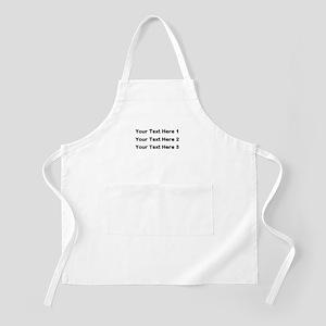Make Personalized Gifts Apron