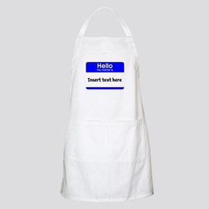 Hello my name is insert Apron