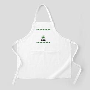 4:20 Weed Leaf shirt Apron