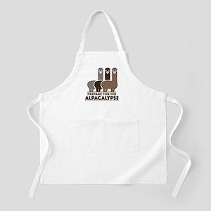 Prepare For The Alpacalypse Apron