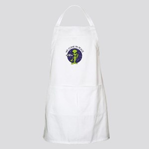 WE COME IN PEACE Apron