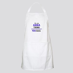 ABBA thing, you wouldn't understand! Apron