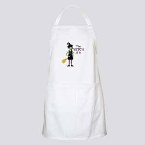 The Witch Is In Apron
