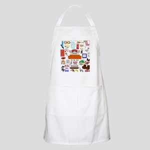 Friends TV Show Collage Apron