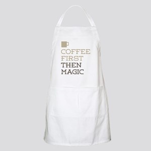 Coffee Then Magic Apron