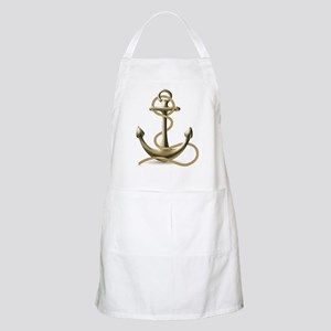 Gold Anchor Apron