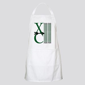 XC Run Dark Green White Apron