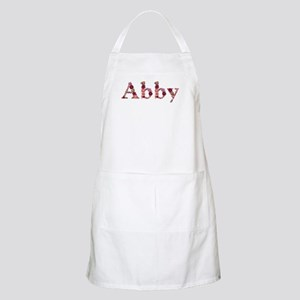 Abby Pink Flowers Apron