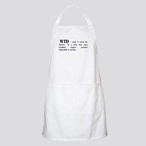 Watch the Director BBQ Apron