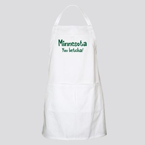 Minnesota You Betcha BBQ Apron