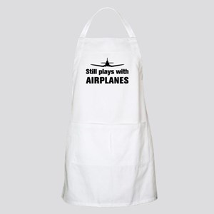 Still plays with Airplanes-Co BBQ Apron