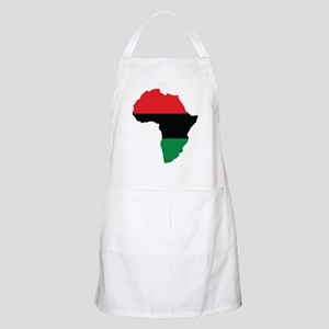 Red, Black and Green Africa Flag Apron