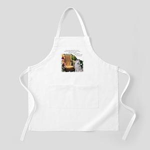 Samoyed Art BBQ Apron