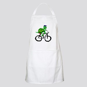 Turtle Riding Bicycle Apron