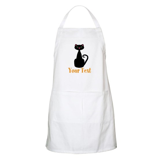 Personalizable Orange  Black Cat
