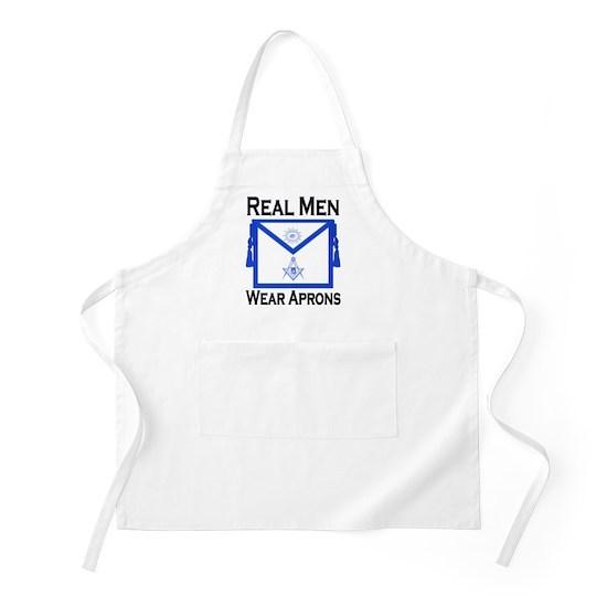 Real Men Wear Aprons apron