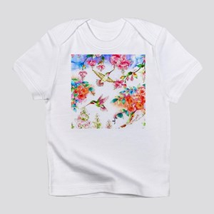 Hummingbird_flowers_landscape T-Shirt