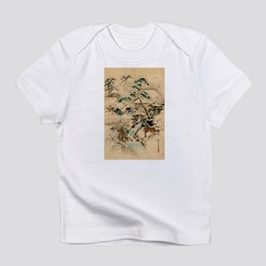 Japanese Ukiyo-e Samurai (B) Infant T-Shirt