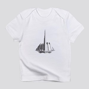City Block Perspective Stipple Infant T-Shirt